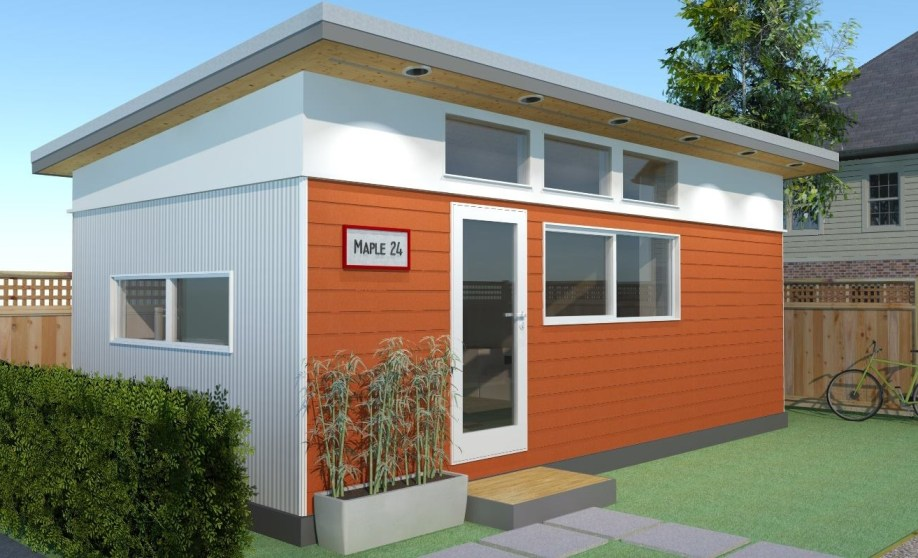 Modular laneway house westcoast outbuildings for Prefab outbuildings