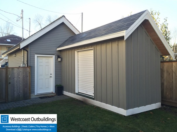 6x16 Saltbox Storage Shed