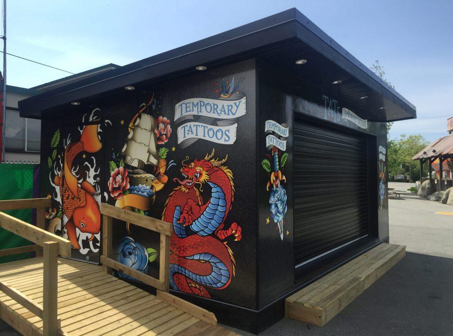 Modular Sales Kiosk
