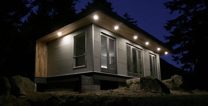 Modular Off-Grid Cabin