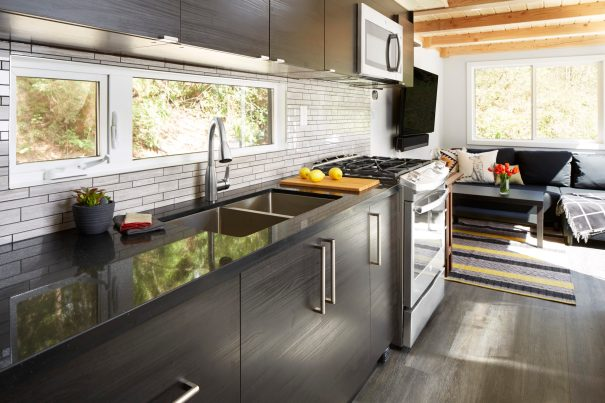 Lillooet 31' Tiny House Kitchen | Attention to Detail