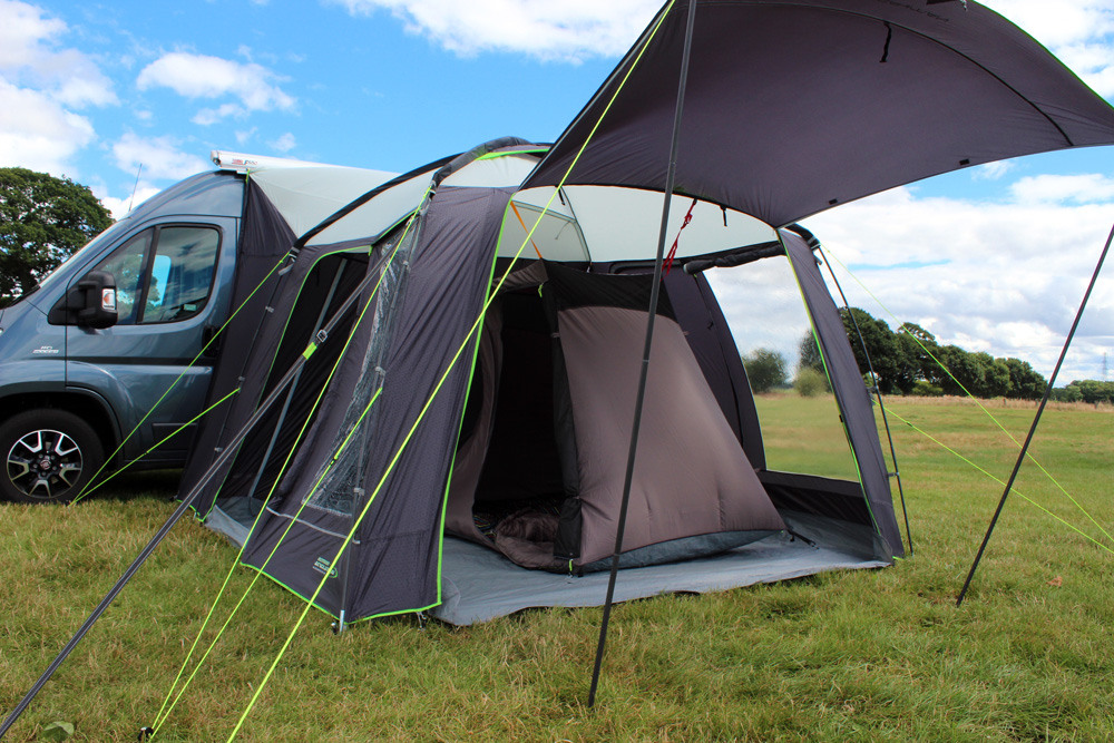 outdoor revolution posture xl chair ikea poang covers canada cayman budget 3m x square entry level driveaway motorhome awning the best selling lightweight classic pole and sleeve drive away is our famed fantastic value campervan or available in two