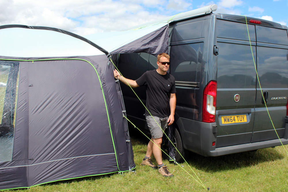 outdoor revolution posture xl chair desk big and tall cayman budget 3m x square entry level driveaway motorhome awning the best selling lightweight classic pole sleeve drive away is our famed fantastic value campervan or available in two