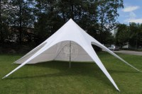 star tent, pop up advertising tent