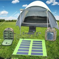 The Chill N Charge Solar Tent From Orange