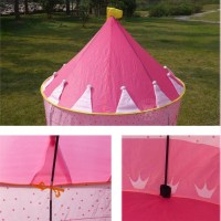 pop up princess castle tent, pop up easy fold play tent