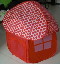 tent playhouse, mushroom tent playhouse, children mushroom