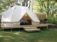 6m bell tent, cotton canvas bell tent, safari bell tent ...