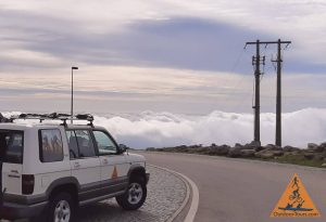 4wd on foia above clouds