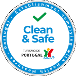portugal logo clean and safe selo
