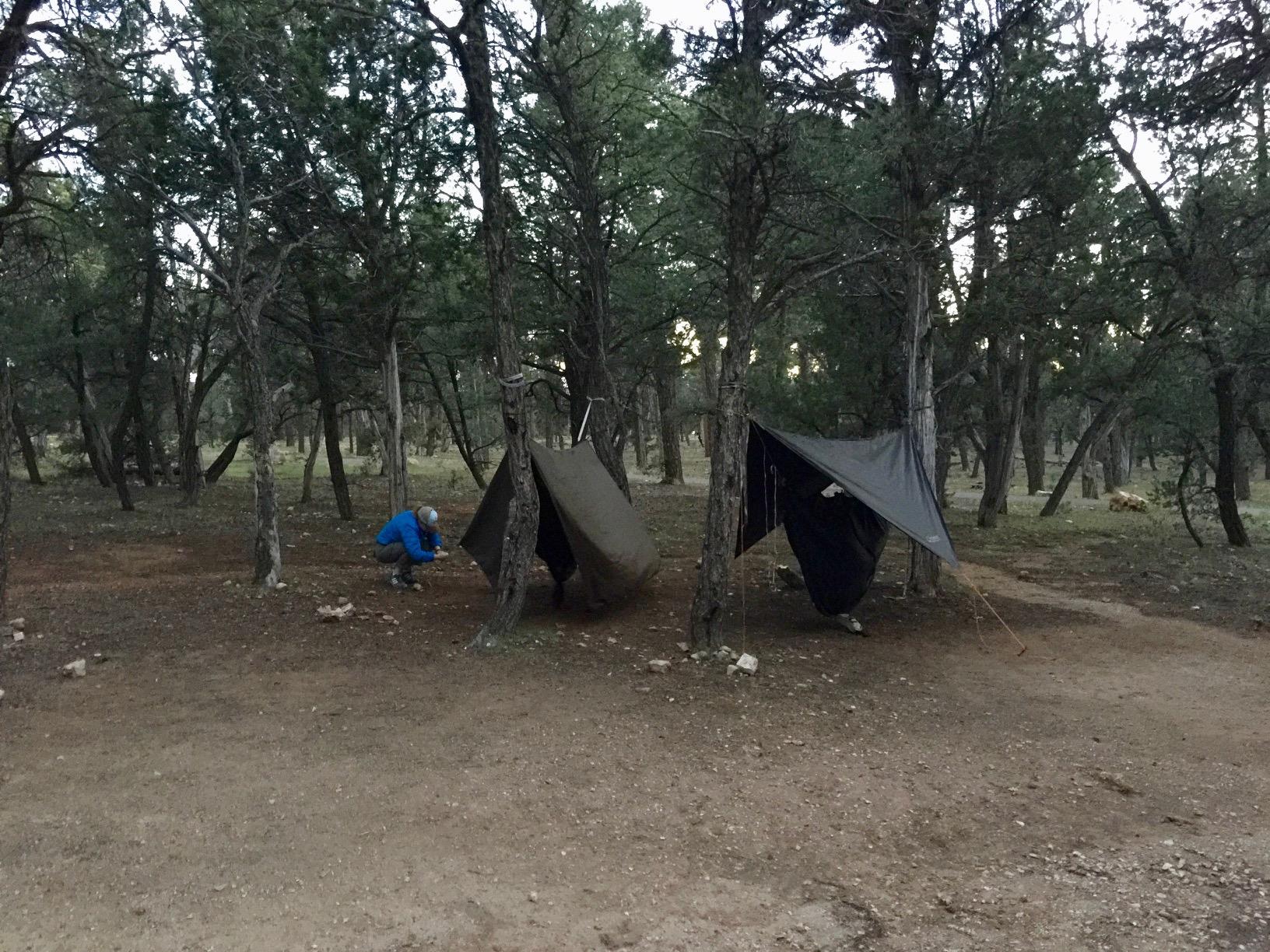 Hocking Hills Full branchement Camping