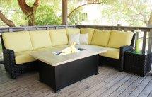 Patio Renaissance Kapaa Sectional Sofa Outdoor Furniture