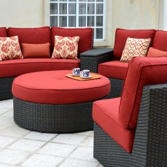 Del Mar Custom Sectional Sofa Leather Cleaner And Conditioner For Sofas Patio Renaissance Circular