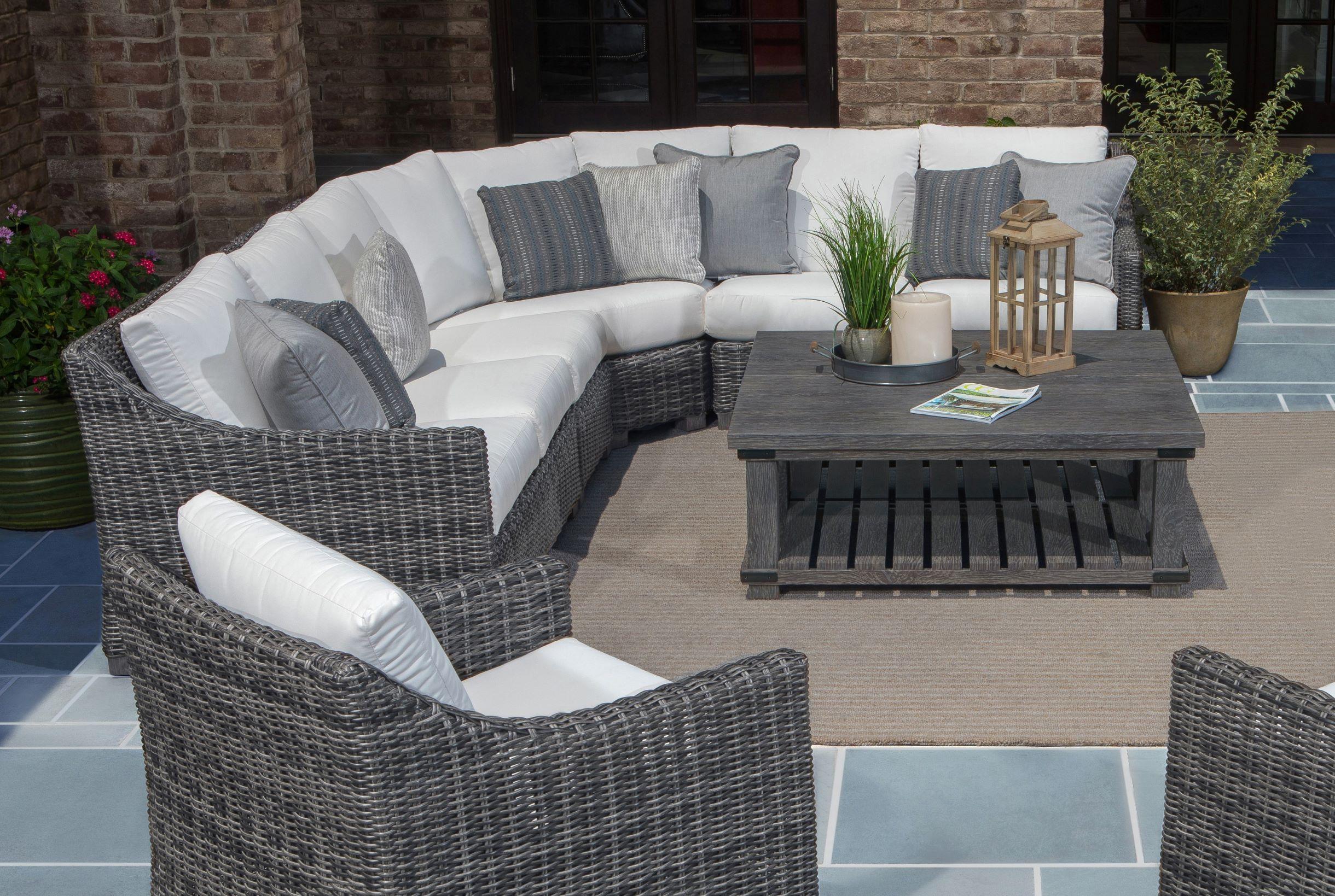 ebel avallon sectional sofa outdoor