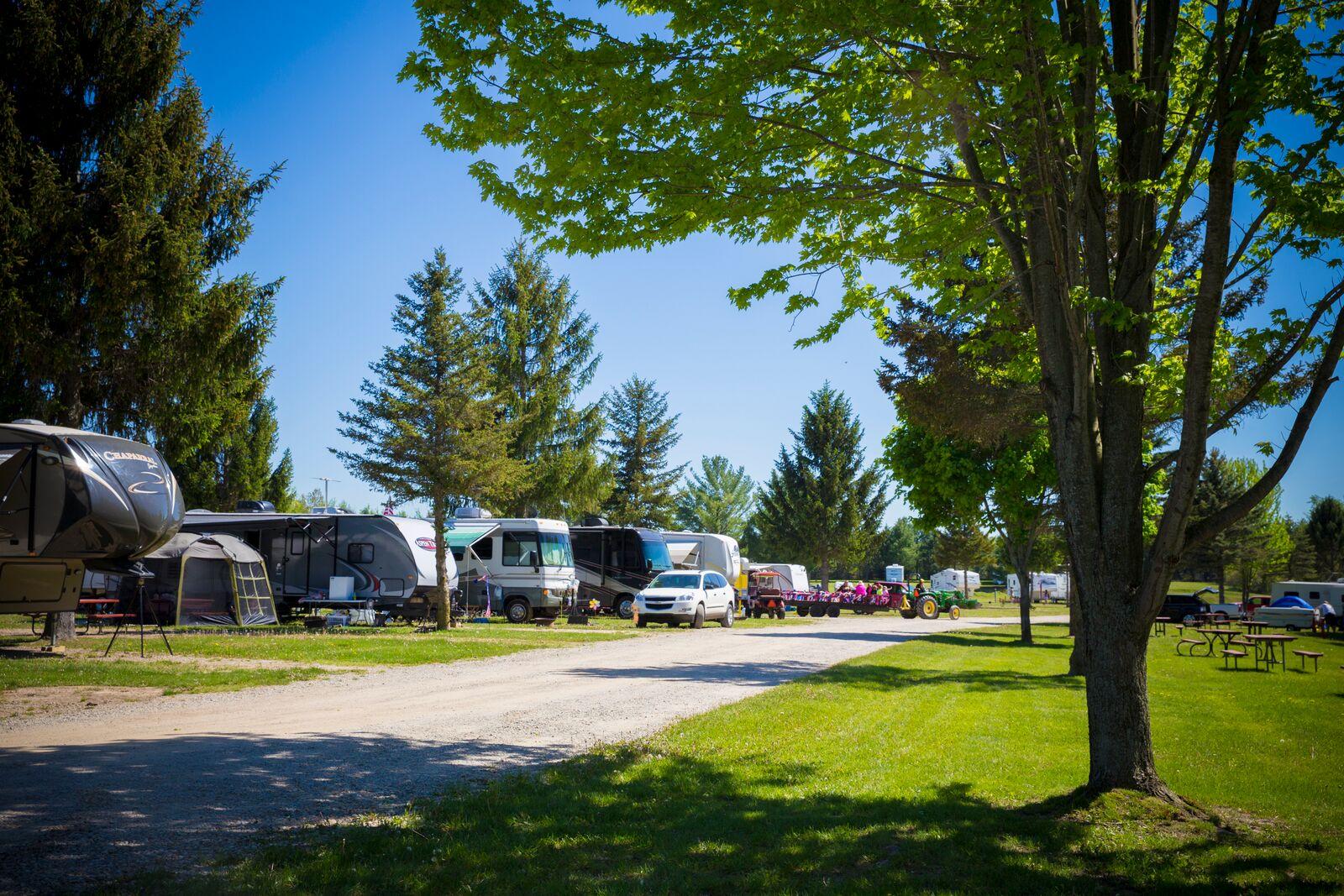 Lake Of The North Resort Michigan Rv Camping