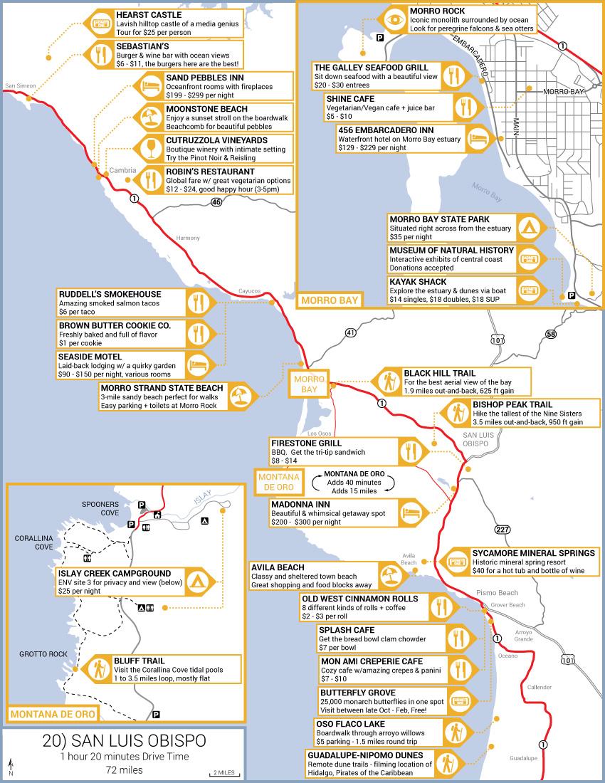 San Luis Obispo Road Trip Guide