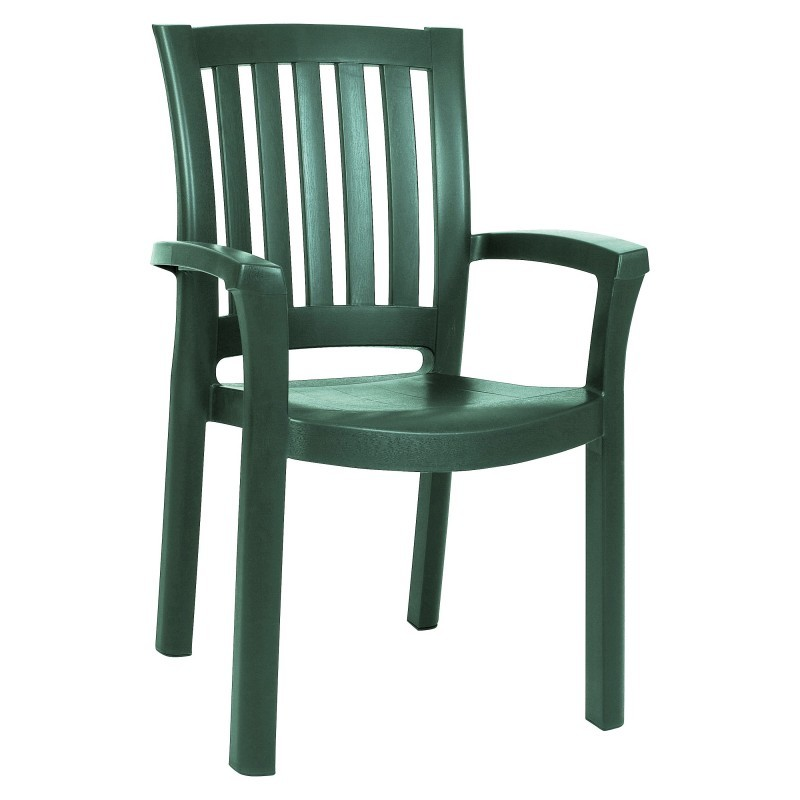 Siesta Sunshine Stackable Plastic Outdoor Dining Chair