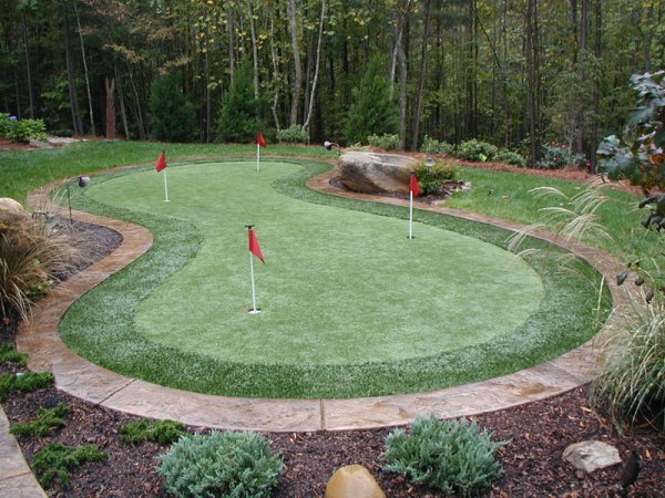 synthetic putting greens - outdoor