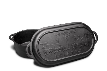 Camp Chef Cast Iron Dutch Ovens - Camp Chef Golden Spike Oval Roaster - Rebel Fisherman Referrals