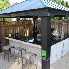 Out Door Kitchen Marble Top Table Outdoor Pizza Ovens Wood Fired Oven