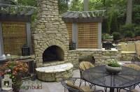 Outdoor Fireplace - Outdoor Design Build
