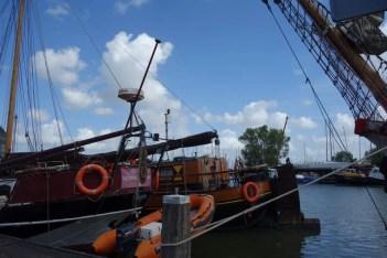 Bruine vloot in Monnickendam. Foto: Bert Sitters
