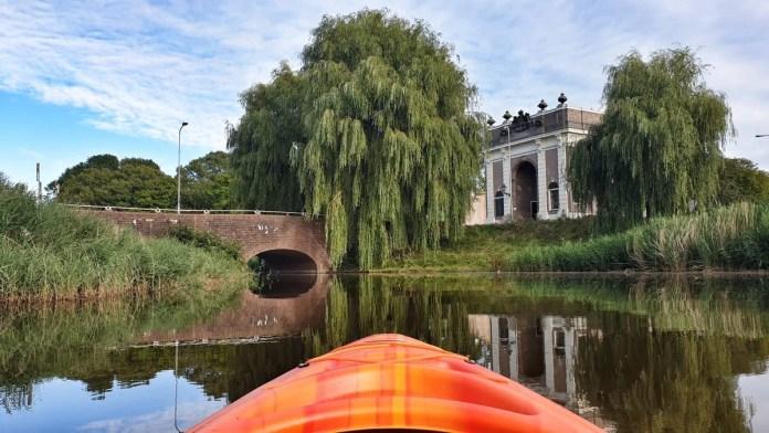 Mooi uitzicht over de Koepoort in Middelburg. Eigen foto: Noëlle Verhage
