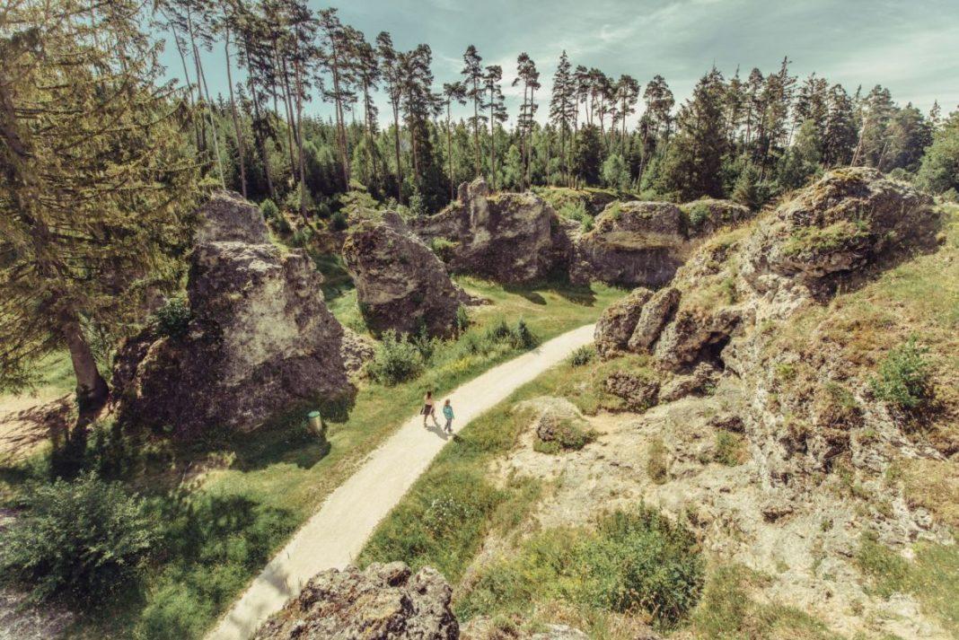 Het Felsenmeer Wental. Foto: Tourismus Ostalb