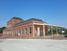 Statig station van Delfzijl