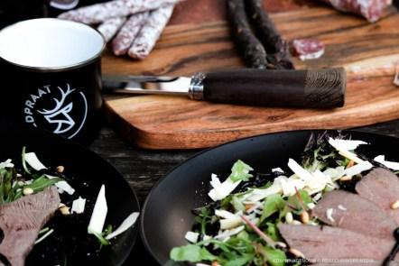 Wild cooking met Wildpraat. Foto: Edwin Hagenouw