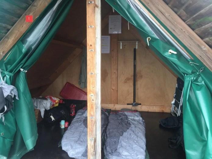 Overnachten op een kampeervlot