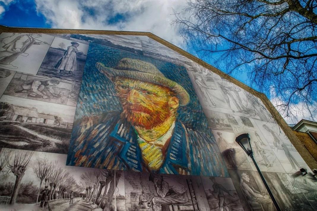Van Goghwand in Etten-Leur