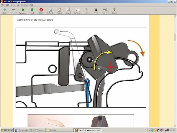 basic gun diagram honda gcv160 engine parts the colt mustang explained - downloadable ebook h&l publishing