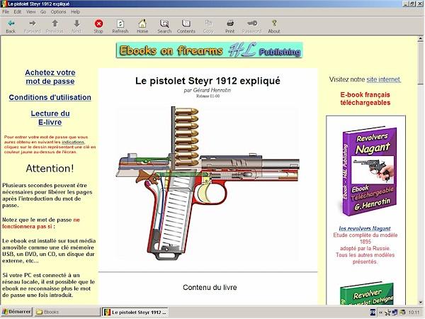 Le pistolet autrichien steyr 1912 expliqu hleditions - Comment fabriquer un pistolet ...