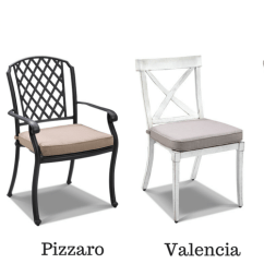 Outdoor Aluminum Chairs Leather Swivel Club Chair The Undeniable Elegance Of Cast Furniture Aluminium From Royalle