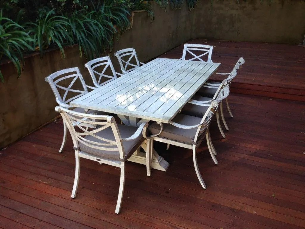 white outdoor dining chair australia vinyl office is this the best table in
