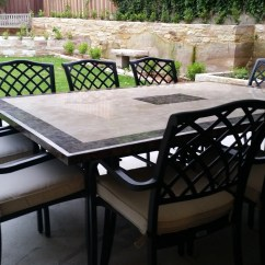 Cast Iron Table And Chairs Perth Cane Back Dining Room The Undeniable Elegance Of Aluminum Furniture