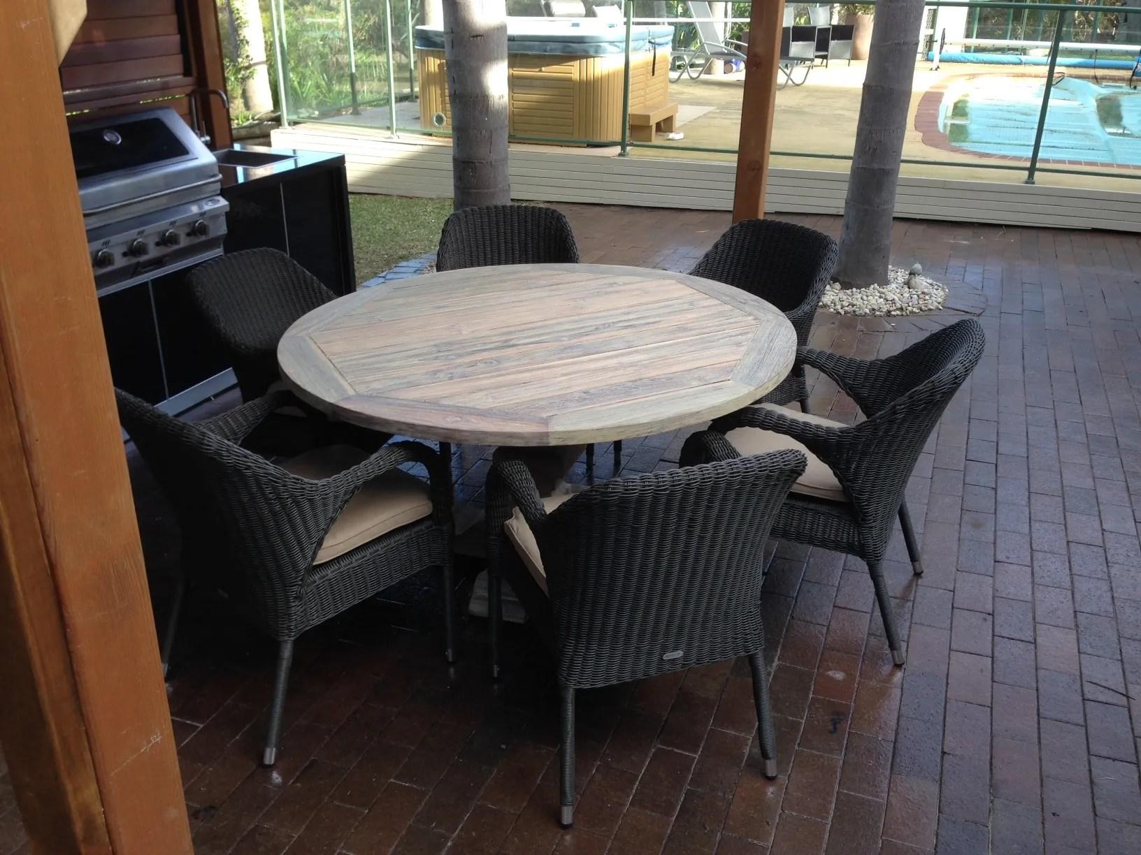 outdoor teak chairs pedestal office chair greywash