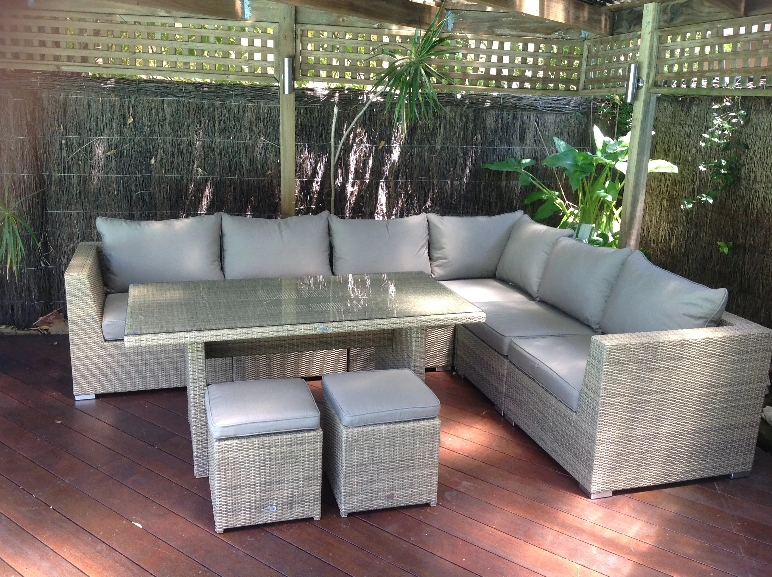 outdoor sofas brisbane leather sofa repair austin tx furniture evolution dining out in comfort mateus low backyard