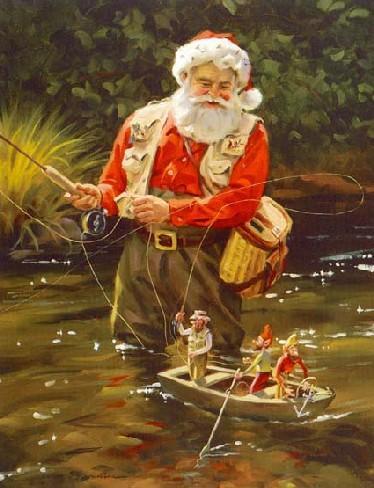 Dear Santa I Hope Youre A Fly Fisherman The Outdooress