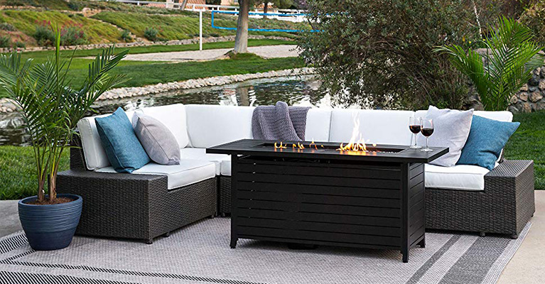top 10 best outdoor coffee table fire