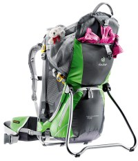 Deuter Kid Comfort Air Child Carrier gives you secure and ...
