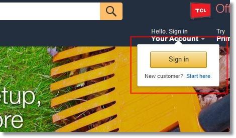 amazon.comアメリカ米国アマゾンアカウント作成1