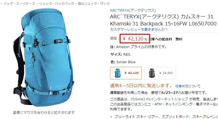 アークテリクス_カムスキー31_バックパック_Arc'teryx Khamski 31 Backpack_海外通販_個人輸入3