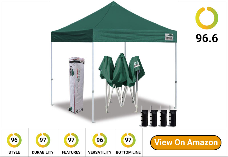 Eurmax Basic EZ Pop Up Beach Canopy