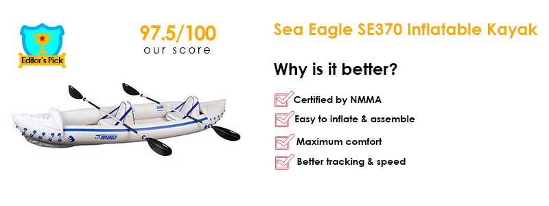 Sea Eagle SE370 Inflatable Sport Kayak