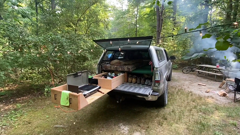 Everything You Need To Know About Truck Bed Camping FI