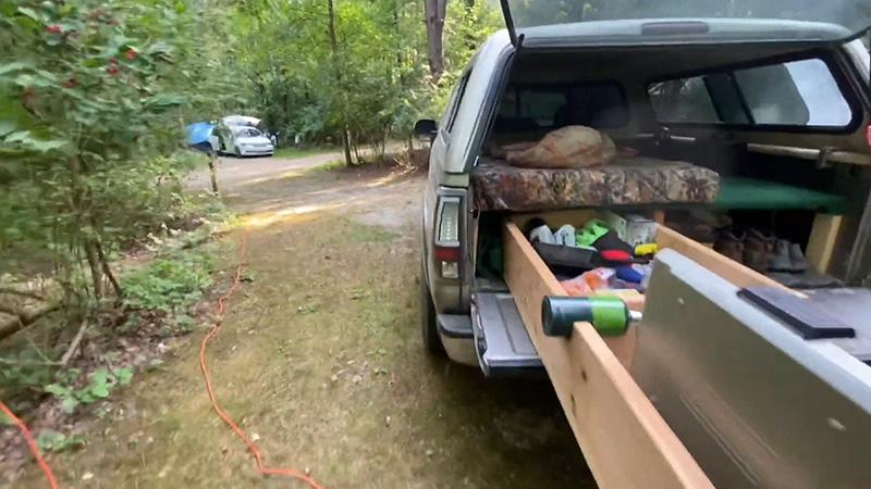 Medium Budget – Truck Bed Tent