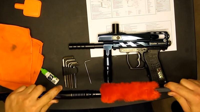 How To Clean A Paintball Gun FI
