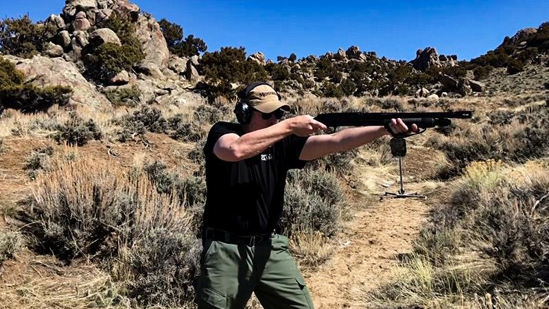 How To Shoot A Pistol Grip Shotgun FI